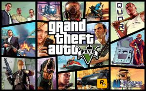 Grand Theft Auto V Wallpaper by eduard2009