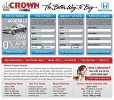 Crown Cars Home Page Design 3 by xstortionist
