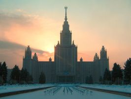 Moscow University by Raelix