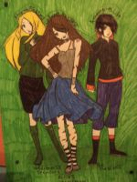 The Andreea's Trio by BAStheVAMPIRE