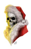 Death as the Hogfather by kedemel
