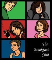 The breakfast club by cookiesville