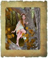 Autumn Dryad by 3punkins