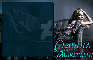 Post Template - Claudia Marcellin by blackhavikgraphics