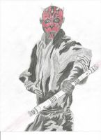 Darth Maul by stonerloner