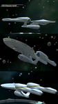 NCC-1701 USS enterprise retrofit by Cassey-B-Liberty