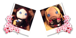 Thor and Syrianna Plushies by DracosDerpyHoof