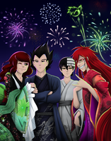 .: Happy New Year 2014! :. by PinselTheExperiment