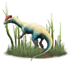 Primal Carnage: Dilophosaurus by T-Reqs