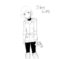 Sherry Birkin boceto by MrsUst