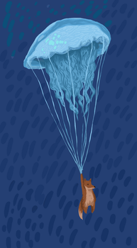 Jellyfish Parachute by Sketch06