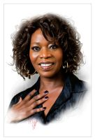 Alfre Woodard by kenernest63a