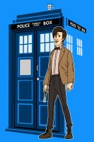 11th Doctor by AlanSchell