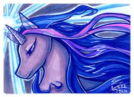 ATC :: Twilight Sparkle by cybre