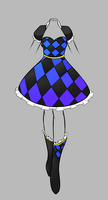 Outfit Adoptable- Checkered Ruffles CLOSED by NeridahsFashion