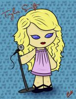 Taylor Swift Chibi Request by demonChasing