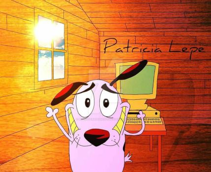 Courage the cowardly dog  by MonsterHouse101