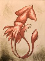 Kraken Squid by feynico