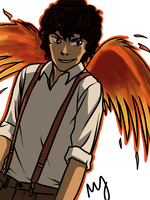 Leo - Pheonix by Mababwion1