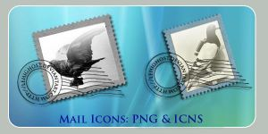Carrier Pigeon Mail Icons osx by lehighost