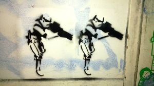 Stormtroopers - Stencil by byCavalera