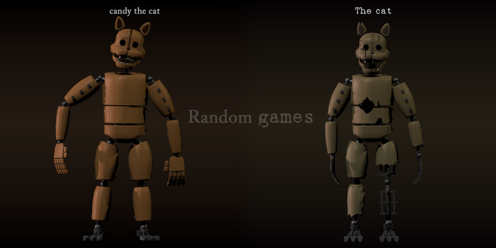 The cat - five nights at candy's by RandomGames