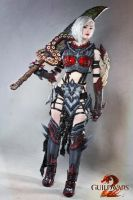 On My Mark- Guild Wars 2 Warrior Cosplay by darkestcountryroad