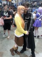 Asuna and Kirito - Animazement2014 by Kira-Kat