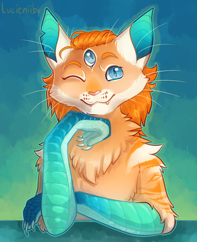 Thora for Claycat (artfight) by Lucieniibi