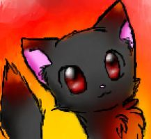 flame kitteh 83 by MaplerofSyrup
