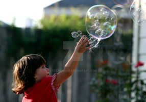 The bubble popper by EyeInFocus