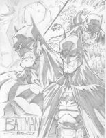 Batmans by StevenSanchez