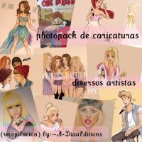 PhotoPack de Caricaturas (diversos artistas) :3 by A-DiaaEditions