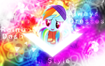 Rainbow Dash Always Dresses in Style by Sol-Republica