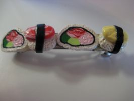 Sushi Set-Barrette by Hey-Jealousy