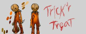 Sam (Trick'r Treat) adventure time by BeyondYou13