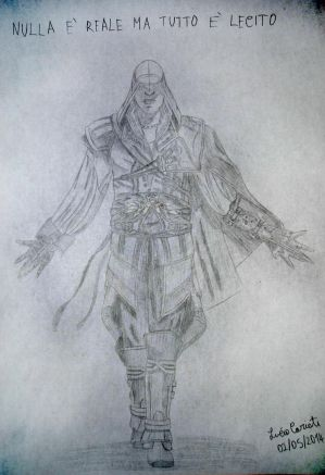 Ezio Auditore Da Firenze by LukeWolfy