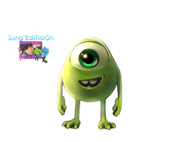 Mike PNG by SungEdiiTiioOn