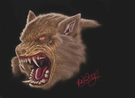 werewolf painter by spdmngtruper