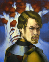 Theon before the Weirwood by Zaresh