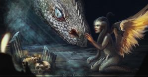 Queen of Snakes by Lulolana