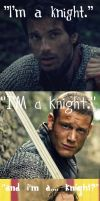 I'm a Knight - Merlin Style by MerlinLemon