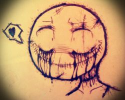 Smiley Man by NomNomicus