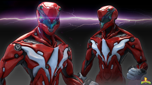 red ranger by Peachlab