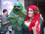 Poison Ivy and Swamp Thing by steviewndrgrl