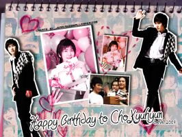 Happy Birthday 2 Cho Kyuhyun by jeari-sharingan