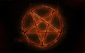 The Pentagram Burns by Silencesys