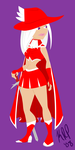FF Pinup: :I: Red Mage by KatChan00