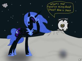 Lost in SPAAAAACE! by Chaotic-Brony
