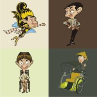 mr bean by hanz08